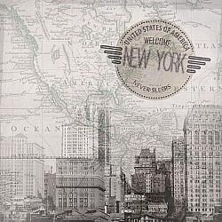 Servetele - New York - 33x33cm, 4 buc.