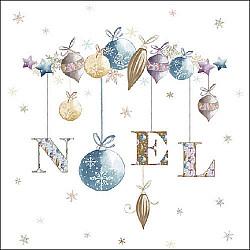 Servetele - Noel - 33x33cm, 4 buc