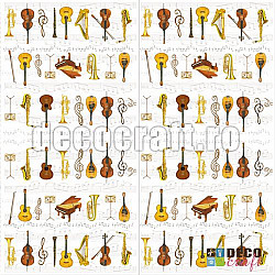 Servetele - Orchestra mare - 33x33cm, 1 pachet (20 buc.)