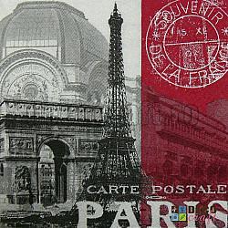 Servetele - Paris - 33x33cm, 4 buc.
