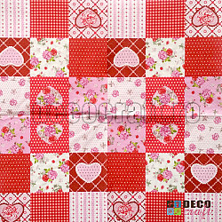Servetele - Peticele inimoase - 33x33cm, 4buc