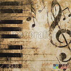 Servetele - Piano - 33x33cm, 4 buc.