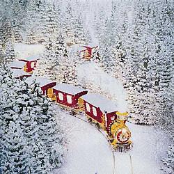 Servetele - Polar Express - 33x33cm, 4 buc.