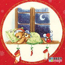 Servetele - Prieteni adormiti - 33x33cm, 4 buc.
