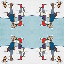Servetele - Prima intalnire - 33x33cm, 4 buc.
