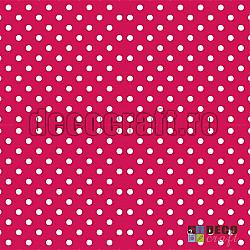 Servetele - Roz cu buline albe - 33x33cm, 4 buc.