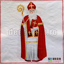 Servetele - St. Nicholas - 33x33cm, 4 buc