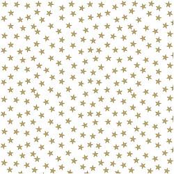 Servetele - Stele si copaci de aur - 33x33cm, 1 pachet (20 buc.)