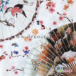 Servetele - Stil asiatic - 33x33cm, 4 buc