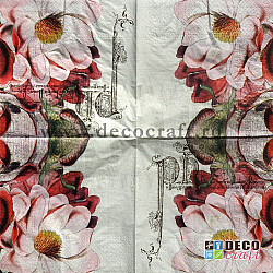 Servetele - Trandafiri magnifici - 33x33cm, 4 buc.