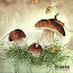 Servetele - Trei ciuperci - 33x33cm, 4 buc.