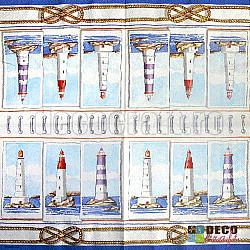 Servetele - Trei faruri - 33x33cm, 4 buc.