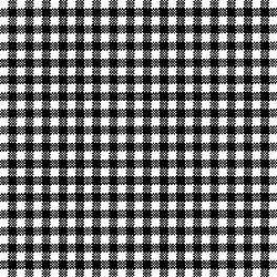Servetele - Vichy negru - 33x33cm, 4 buc.