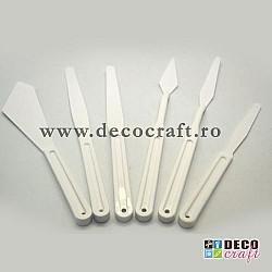 Set 5 spatule plastic