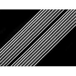 Bandă elastică pentru confecții, lățime 24 mm (pachet 5 m) - alb