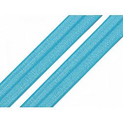 Elastic bias, lățime 20 mm (card 25 m) - albastru azur
