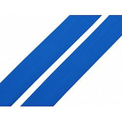 Elastic bias mat, lățime 20 mm (card 20 m) - bleu albăstrea