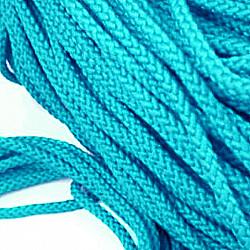 Snur poliester, 5 mm - Albastr-deschis